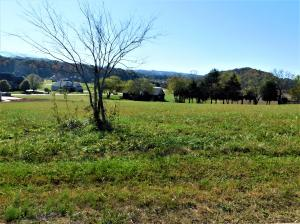 .91 acre level lot with fantastic views in an upscale neighborhood
