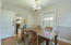 Formal Dining Room with Chair Molding