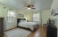 Large Master Bedroom with Ceiling Fan