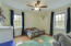 Bedroom Two with Ceiling Fan