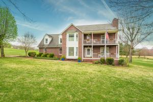 Brick home on level acreage