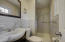 Master bedroom bathroom with stand up shower
