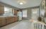 Spacious Kitchen with Tile Flooring