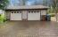 720 Square foot Garage with Brand New Roof (includes side door into back yard)