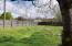 Huge level fenced back yard