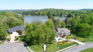 This lot offers a great view and is located on a cul-de-sac.