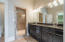 Master Bath w/custom-painted cabinetry
