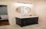 New vanity & marble countertop