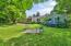 Large, level, fenced backyard!