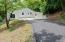 New Blacktop driveway installed
