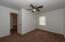 Middle bedroom, new ceiling fan