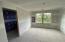 Upstairs bedroom suite with adjoining bathroom