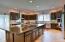 Gourmet Kitchen w/ 6x10' island & 2nd sink
