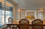 Formal Dining Room w/ views of the lake