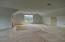 860sqft. unfinished bonus room with additional storage