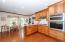 Breakfast area, stainless appliances