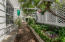 Shade Garden with lattice backdrop