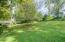 Natural slope to back yard