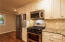 Kitchen has stainless appliances and adj. Breakfast Room