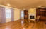 Master Suite with refurbished/vintage mahogany built-ins and fireplace