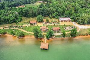 Tuscan Inspired Lakefront Estate