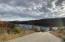View from Street toward lake