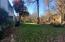 Big level front yard