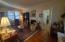 Living room--Beautiful oak hardwood floors