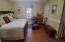 Spacious main level master bedroom
