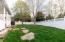 side view back yard