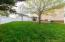 back yard rear view
