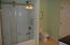 Glass shower sliding doors