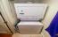Washer/Dryer in utility closet off kitchen