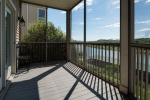 Upper Screened Deck and View