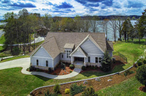 1.1 acres on the lake.