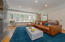 Family room, hardwood floors