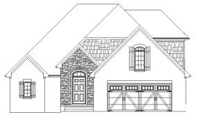Worthington, 2-story, 3 bedroom, 2.5 bath plan by Bryan Testerman. Open floor plan w/kitchen, living room, & dining in one large room! Custom kitchen w/soft close cabinets, gas range, granite counters, island, tile backsplash & under cabinet lighting opening into a large living room w/stone, gas log fireplace leading to covered back porch. Master bedroom on main floor w/trey ceiling & posh en-suite bath w/ tile shower & double bowl vanity w/granite top, & huge master closet w/solid shelving. Upstairs are 2 additional bedrooms & a full bath. Rich moldings on main floor. Hardwood in entry/kitchen/living/dining. Tile in baths/laundry. Carpet in bedrooms. Rough in central vac. Tankless water heater. Full yard sod & irrigation. Est completion Dec 2021.