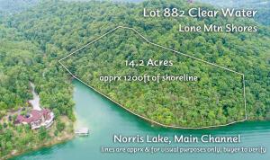 Lot 882 Clear Water Rd, New Tazewell, TN 37825