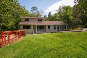 on dead end rd with woods and privacy 3 level living. convenient location to intersatate