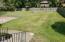 Expansive level fenced yard