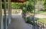 Concrete back porch