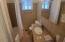 Full tile guest bath