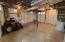 Garage in basement