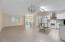 Open concept, tiled floor