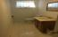 Hlf bath in basement