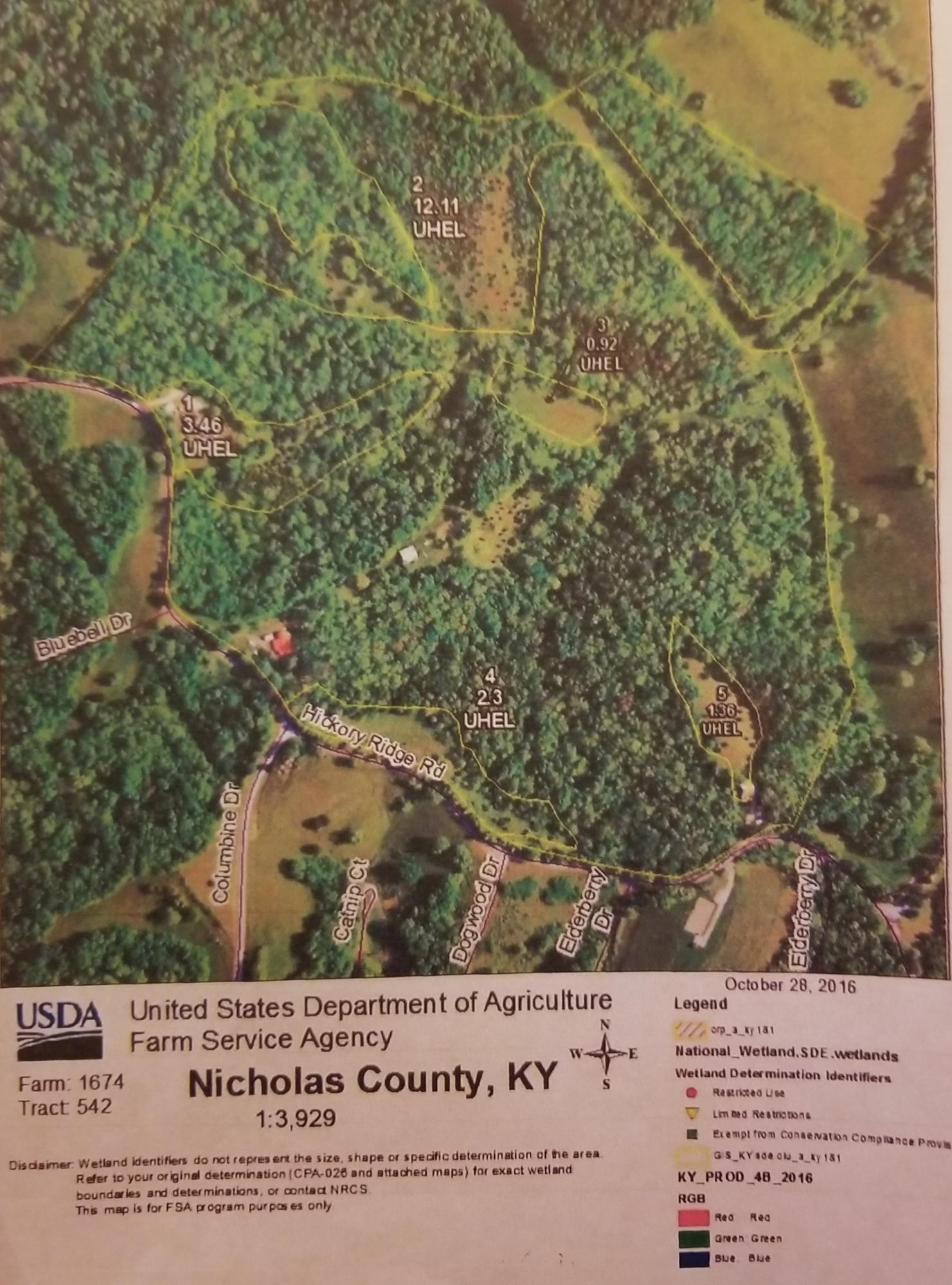 1280 Hickory Ridge Road, Carlisle, KY 40311
