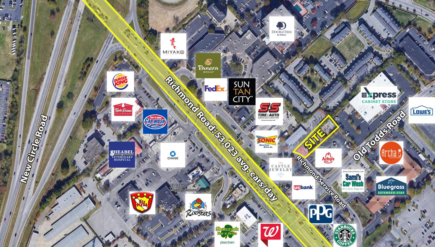 2647 Richmond Road, Lexington, Kentucky 40509, ,Commercial Land,For Sale,Richmond,20120571