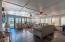 Arizona Room with Gorgeous Slate Tile Floor Ceiling Fans & Mini Split A/C unit