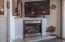 Fireplace in Family Room/Arizona Room