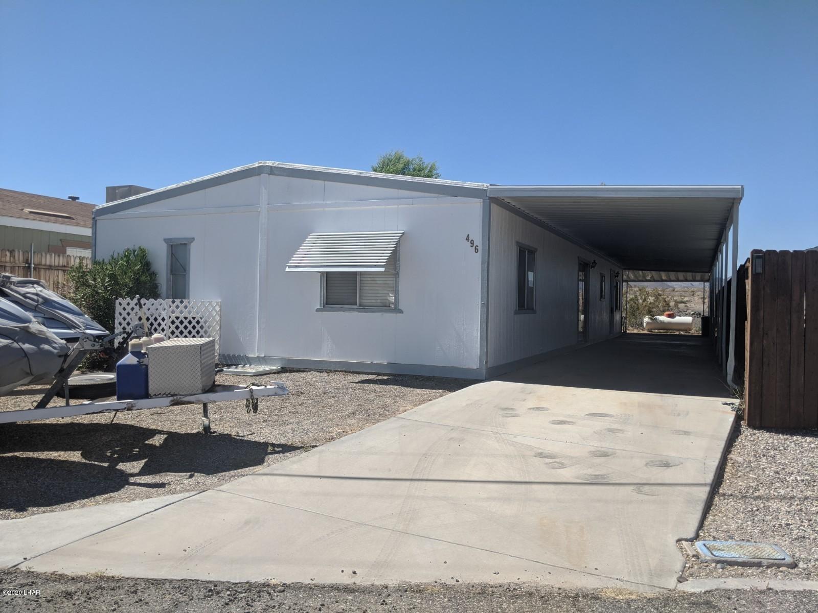Details for 496 Bluewater, Parker, AZ 85344